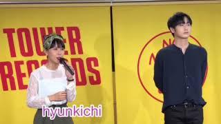 ホ・ヨンセン イベント タワーレコード難波.