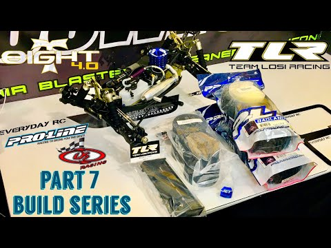 TLR 8IGHT-T 4.0 NITRO TRUGGY KIT - PROLINE RACING - DE RACING - WING INSTALL - PART 7 BUILD SERIES