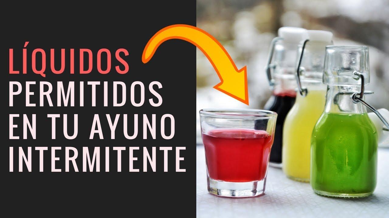 ¿Qué puedes beber al ayunar?