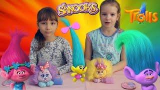ТРОЛЛИ 2016 мультик и Шнуксы Shnooks Trolls DreamWorks Видео для детей МУЛЬТИКИ НОВИНКИ 2016