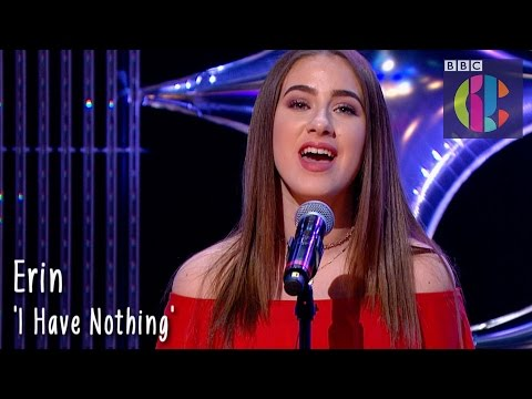 Whitney Houston 'I Have Nothing' cover by Erin   CBBC