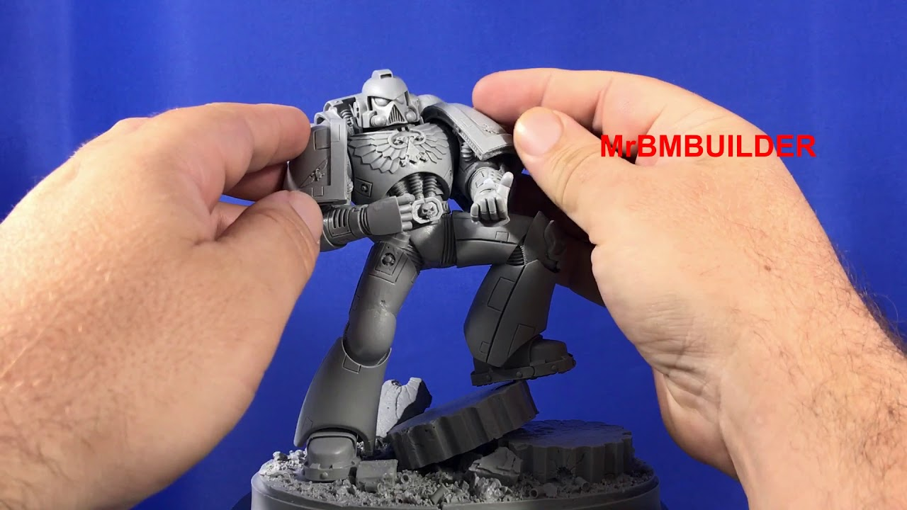 Forge World Imperial Space Marine part 2