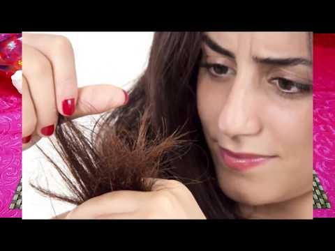 how-to-remove-split-ends-from-hair- -do-muhe-baal-khatam-karne-ka-tarika- -split-hair-remedy