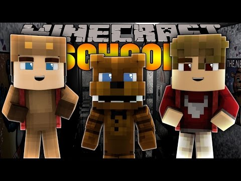 Minecraft School: FIVE NIGHTS AT FREDDYS - BABY FREDDY! - Night 1