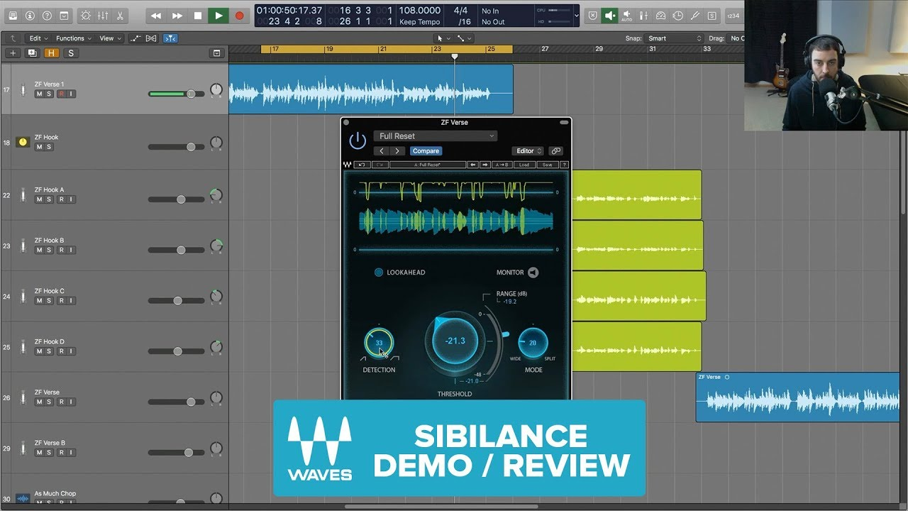 Mixing Rap Vocals with Waves Sibilance - YouTube