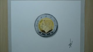 How to draw:the new two-euro coin Spain