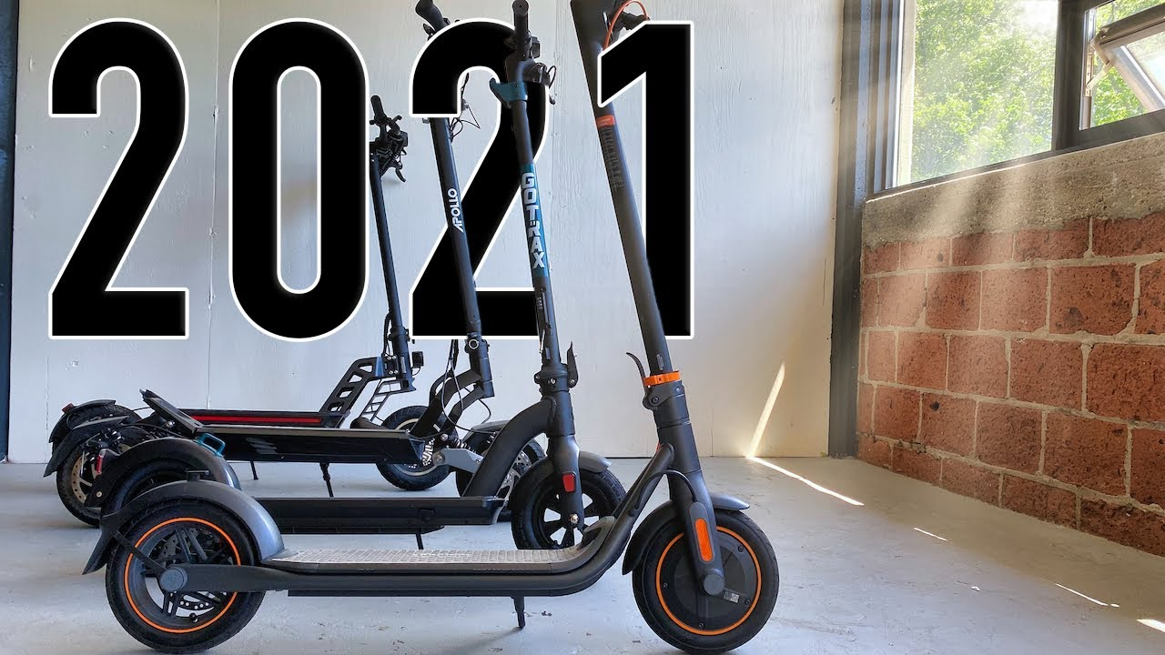 Download 10 Best Electric Scooters of 2021