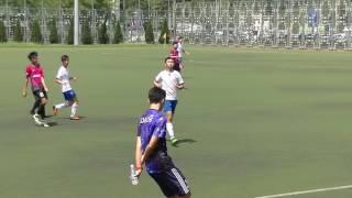 2016 0924大埔及北區中學足球甲組初賽 迦密柏雨vs粉