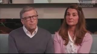 Bill & Melinda Gates Giggle & Smirk Over 2nd Wave of Pandemic