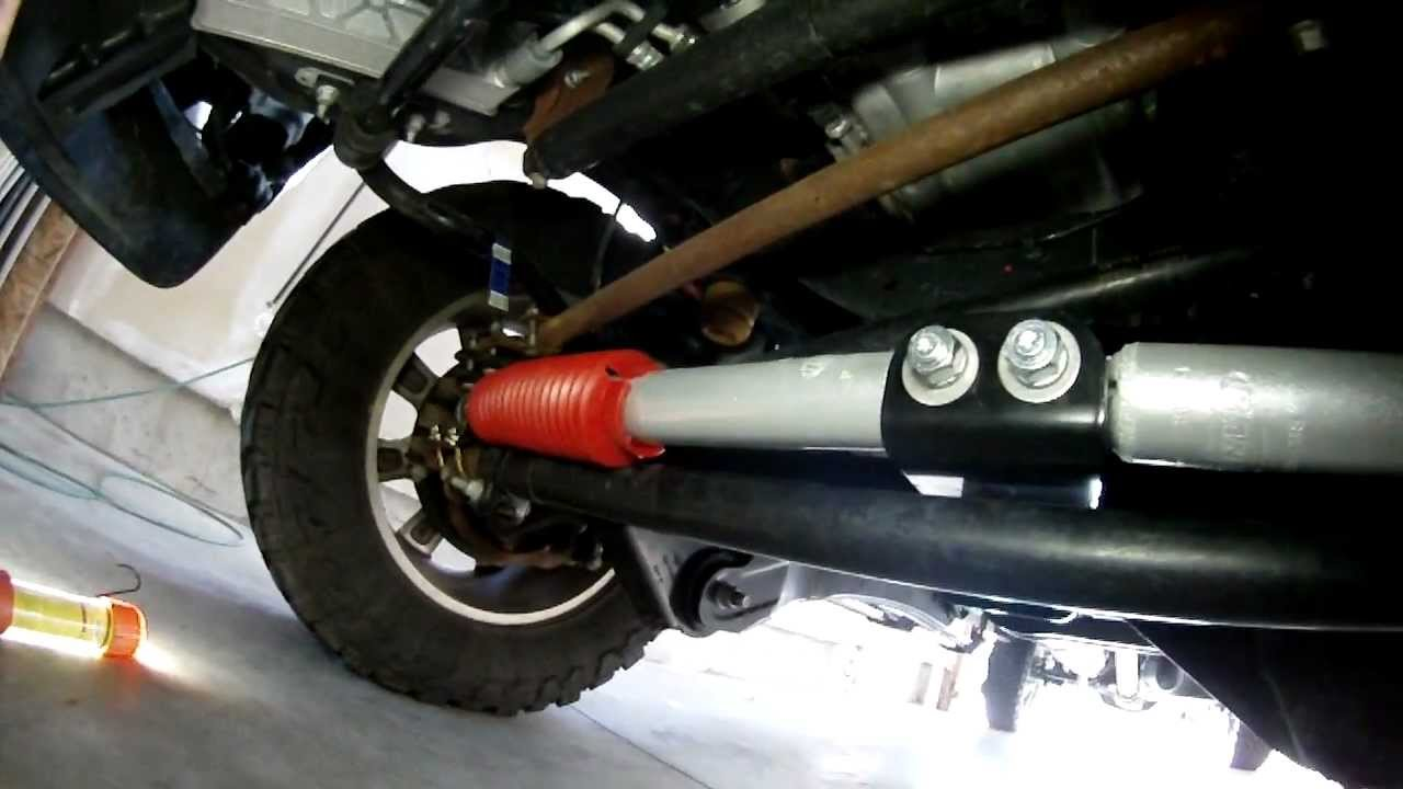 Steering/Death Wobble and Rancho shocks on a Ford Super ...