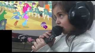 vuclip Catalina Roa : My little Pony - Ecuestria girls - cancion de la cafeteria
