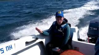 кораблекрушение катер тонет