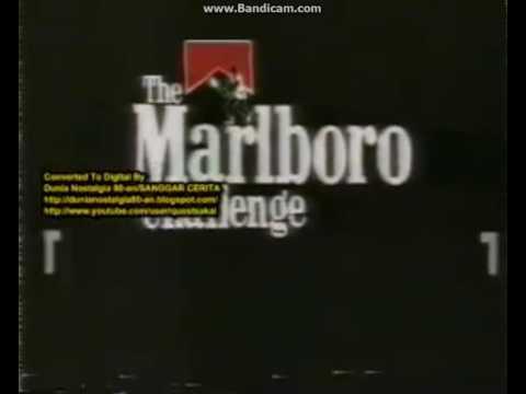 Iklan The Marlboro Challenge (1989) @ RCTI