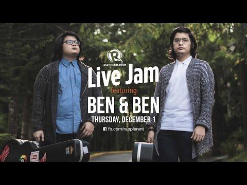 Rappler Live Jam: Ben & Ben