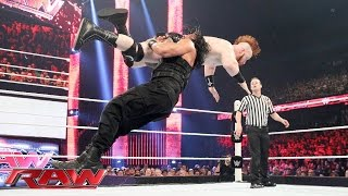Roman Reigns vs. Sheamus: Raw, July 6, 2015