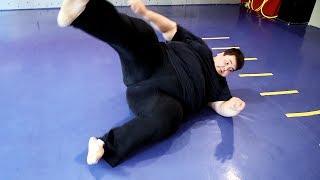 Толстяк решил сбросить 100 кг / Трансформация из жиробаса в бойца #1