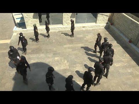شاهد: باكستان تستحدث فرقة شرطة تزلج خاصة لمحاربة الجريمة في شوارع كاراتشي الضيقة…  - نشر قبل 35 دقيقة