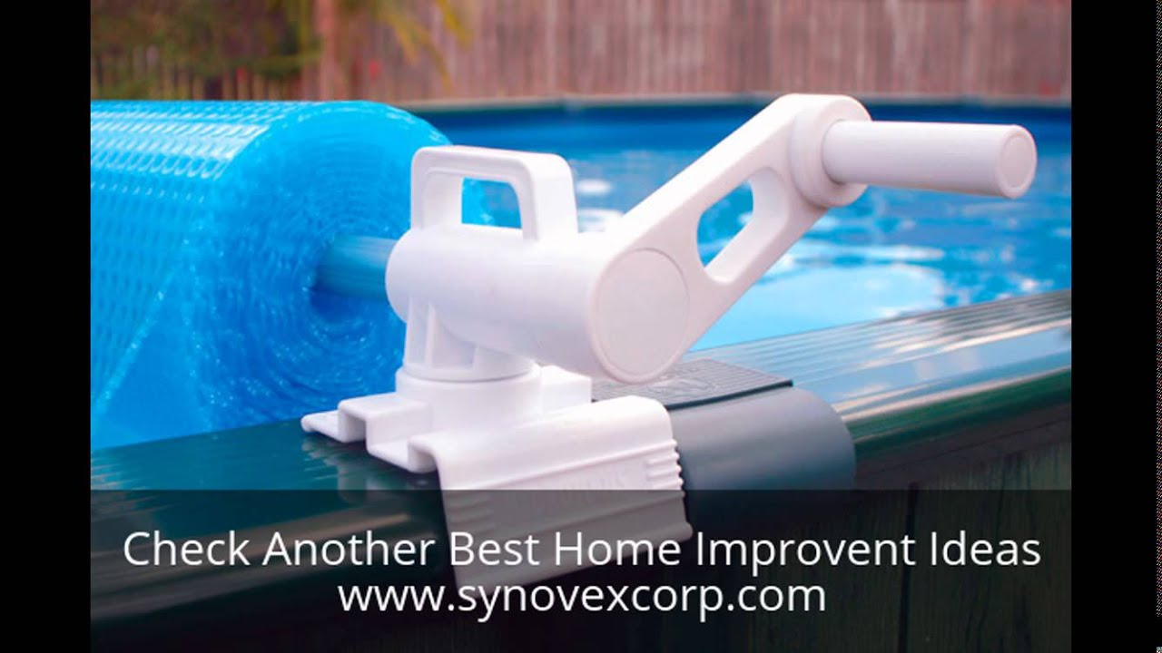 Above Ground Pool Solar Blanket Reel Youtube