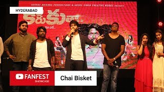 Chai Bisket @ YouTube FanFest  2018 Showcase Hyderabad