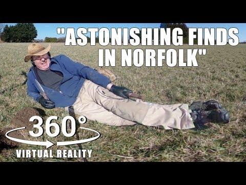 ASTONISHING TREASURE IN NORFOLK: 360° VR virtual reality