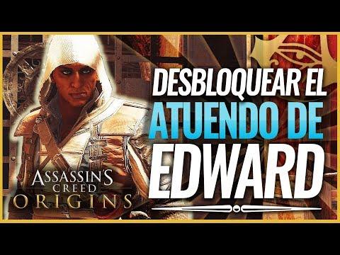 Assassin's Creed Origins | Cómo Conseguir el Atuendo / Traje EDWARD KENWAY