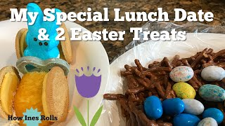 Who's My Special Lunch Date? | 2 Easy Easter Treats | *how Ines Rolls*