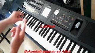 Dua pilihan yunita ababil karaoke klasik (sampling roland bk5)