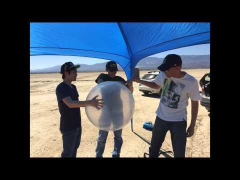 UCIRP 2014-2015 Rockoon Prototype 1 Test