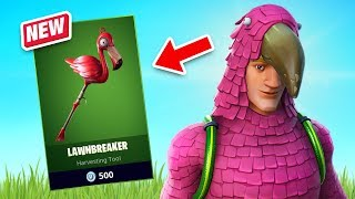 New King Flamingo Skin Gameplay - Flamingo Set! (Fortnite Battle Royale)