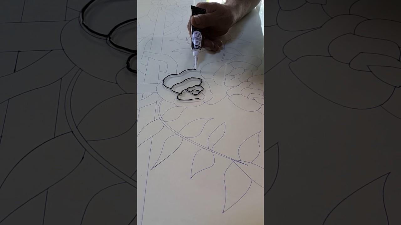 Boyama Vitray Nasıl Yapılır Youtube