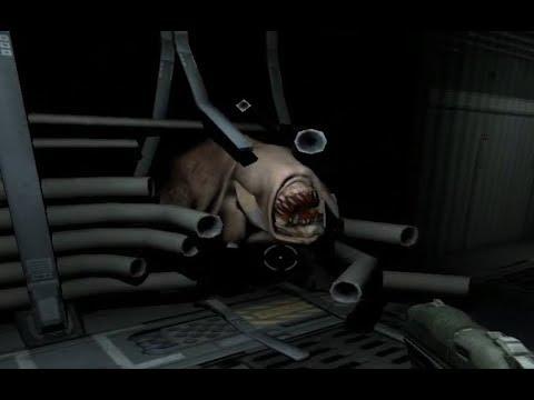 Doom 3 Alpha - Scarier Than the Final Version!