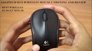 Logitech B175 Wireless Business Mouse Unboxing and Review BEST BUDGET MOUSE - GADGET PARK