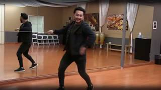 Bachata Footwork with Danny Fernandez & Julio Morales.