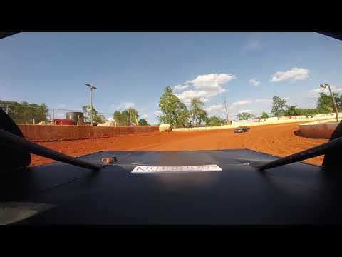 East Lincoln Speedway 6-15-19 Stock 4 Rear Cam Hot Laps Alexus Motes