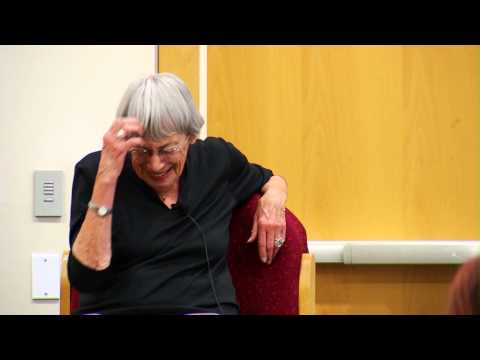 Ursula Le Guin at Portland Community College - Rock Creek Ca