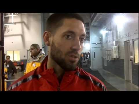MLS Talk - USA Vs Argentina Post Game: Mix Zone Player Inter