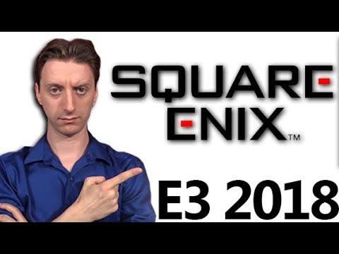 Grading Square Enix's Press Conference E3 2018 - ProJared