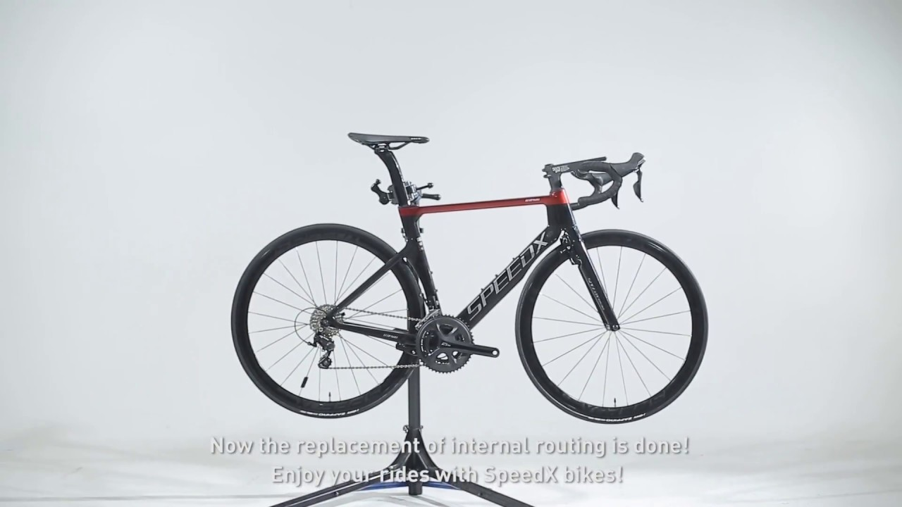 17074470c51 Tutorial: Replacement of Internal Cable Routing. SpeedX Cycling