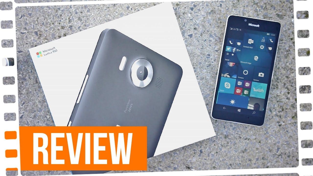 das beste handy ever lumia 950 review youtube. Black Bedroom Furniture Sets. Home Design Ideas