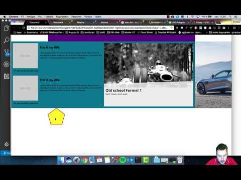 Creating a website | S02E18 | SVG polygon pentagon