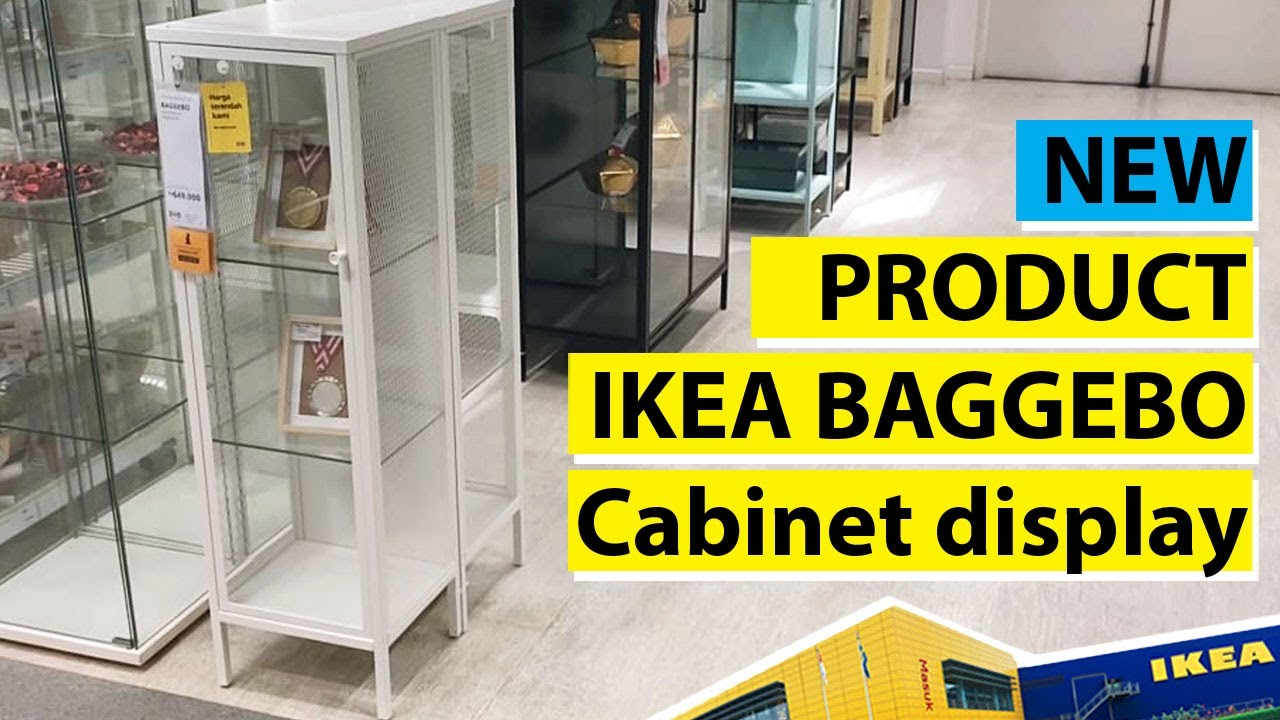 Ikea BAGGEBO Cabinet with glass door