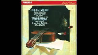 Ferdinando Carulli (1770-1841): Guitar Concerto in A major Op. 8a - Pepe Romero