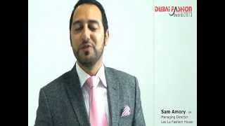 Dubai Fashion Awards 2013  Sam Amory's Viral Video Testimonial