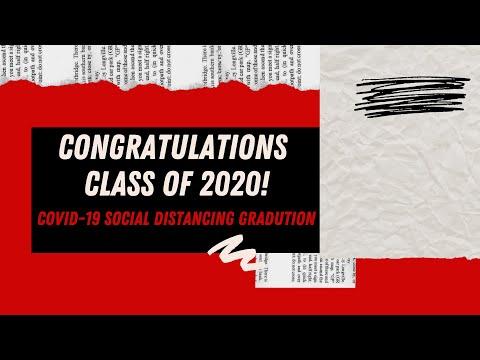 Rose Bud High School - Class of 2020 Graduation