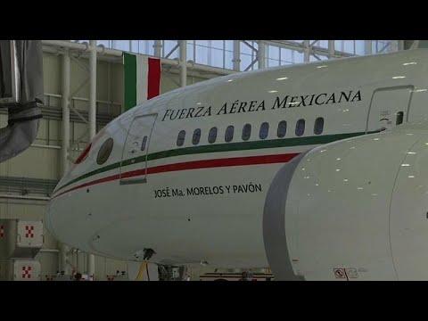 شاهد: حرصا على التقشف.. طائرة رئاسية للبيع قريبا في المكسيك .. فهل من مشترٍ؟…  - 10:54-2018 / 12 / 3