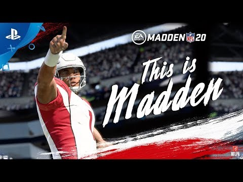 Madden NFL 20 | This is Madden Official Gameplay Launch Trailer | PS4