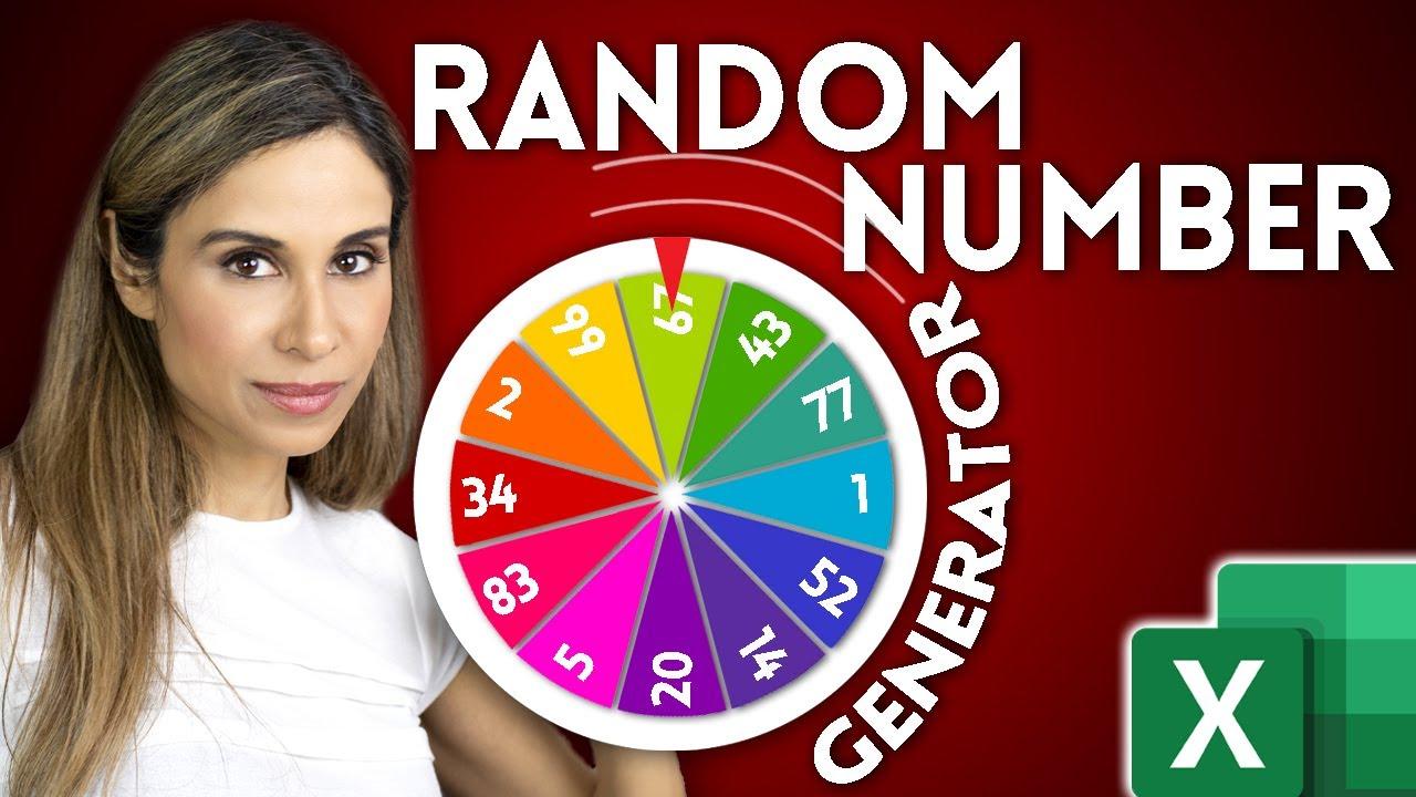 How to Create Random Numbers in Excel