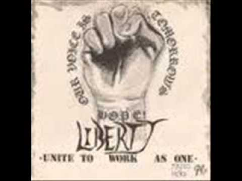 LIBERTY - Our Voice is Tomorrow's Hope 1985 (ANARCHO PUNK UK)