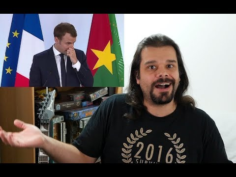 MACRON AU BURKINA FASO (Terrene Trash 83)