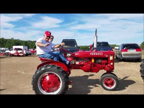 Owosso Tractor Parts Mackinac Bridge Antique Tractor Crossing 2016 V2